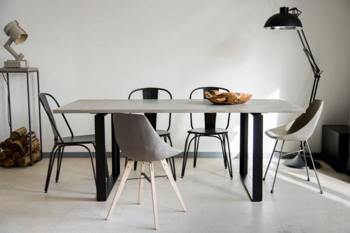 Table Béton- Alps - Dining Table - Lyon béton en situation