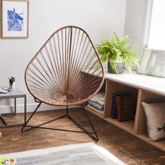 fauteuil acapulco cuir