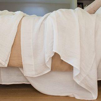 housse de couette en chanvre biologique - linge de maison et linge de lit en chanvre français, 100% récolté,tissé, et confectionné en France. couleur chanvre