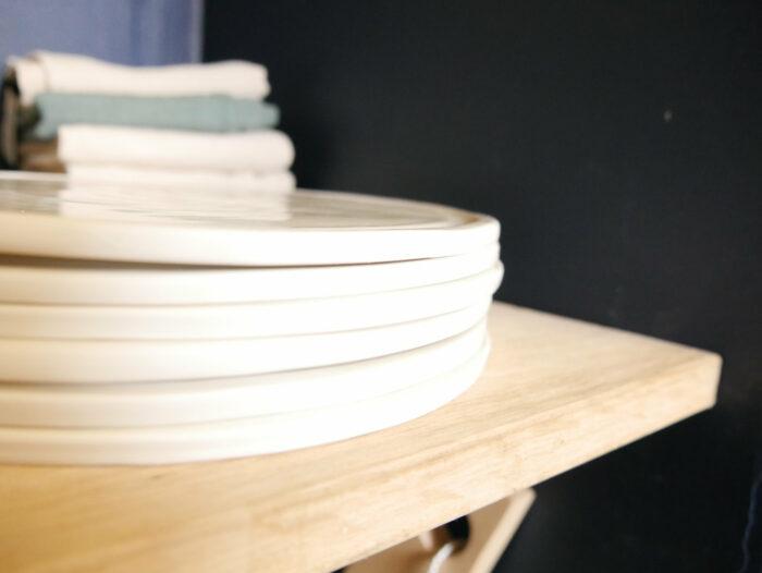 assiette plate diametre 24 cm porcelaine