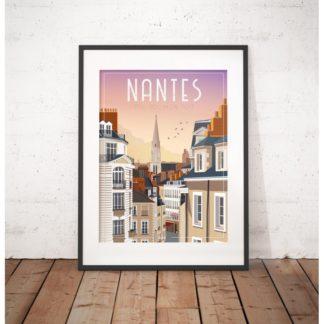 affiche-nantes-jour 2 - toit, toi mon toit - WIM - L'inatelier Nantes - tirage limité