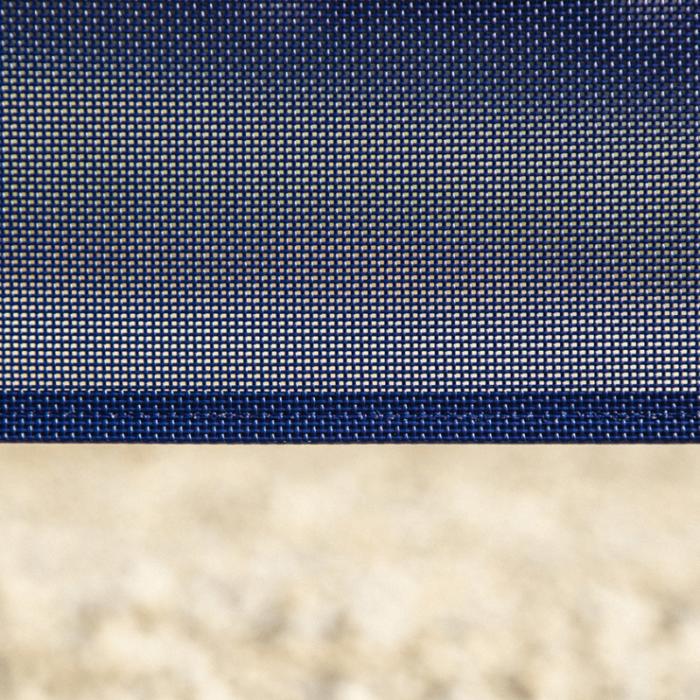 ail textile bleu_ L'Inatelier nantes zoom sur toile bleu