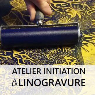 atelier linogravure morgane chouin L'inatelier Nantes_Affiche octobre