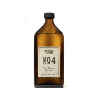 Bain moussant N°4 - Les choses simples - Fleurs d'oranger - 500ml-L'INATELIER-fabrication artisanale-facon verre - rechargeable- zéro déchets-made in France- déco-maison-concept store-bien être