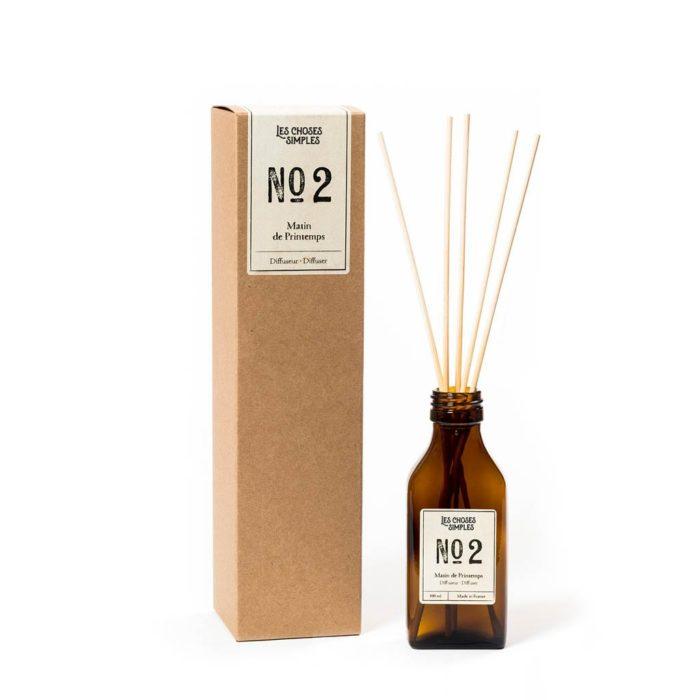 Diffuseur N°2 - Les choses simples - Matin de printemps - 500ml - Parfum d'ambiance- L'INATELIER -Boutique déco Nantes-madeinfrance
