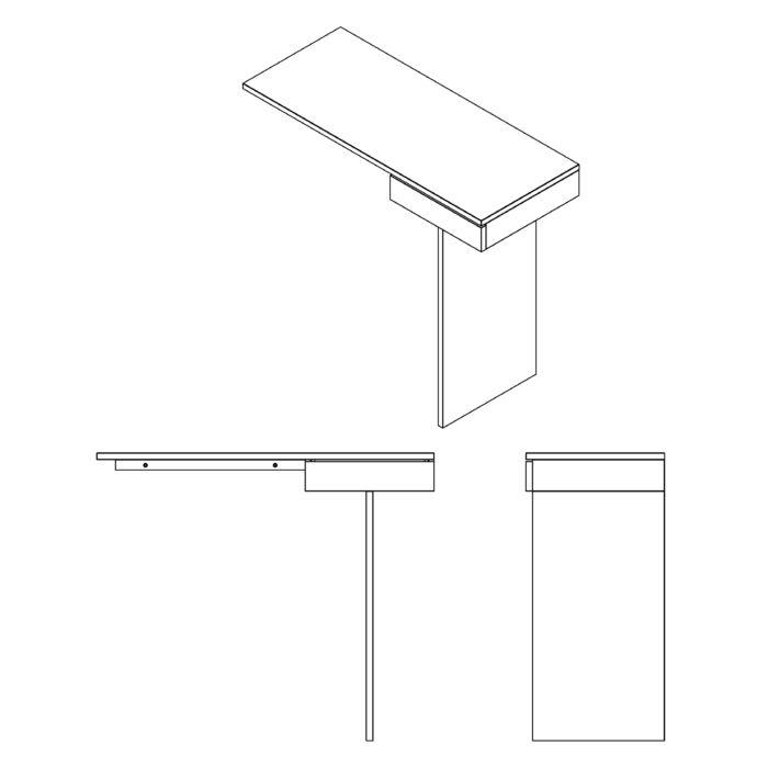 console ti en chêne_drugeot manufacture_bois_design_meuble_bureau_couloir_nantes_lInatelier_boutique déco_décoration intérieure_madeinfrance_personnalisable_plan