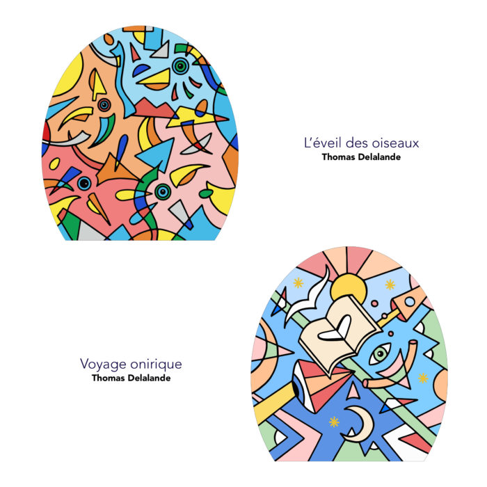 Lampe solidaire_petrolette_la chaise française_L'Inatelier_Thomas delalande_atelier_made in france_fabrication française_nantes_déco_solidarité Covid19_boutique_artisanat_artiste_profil_Eveil-des-oiseaux_Lampe de chevet_abat-jour_2 modèles