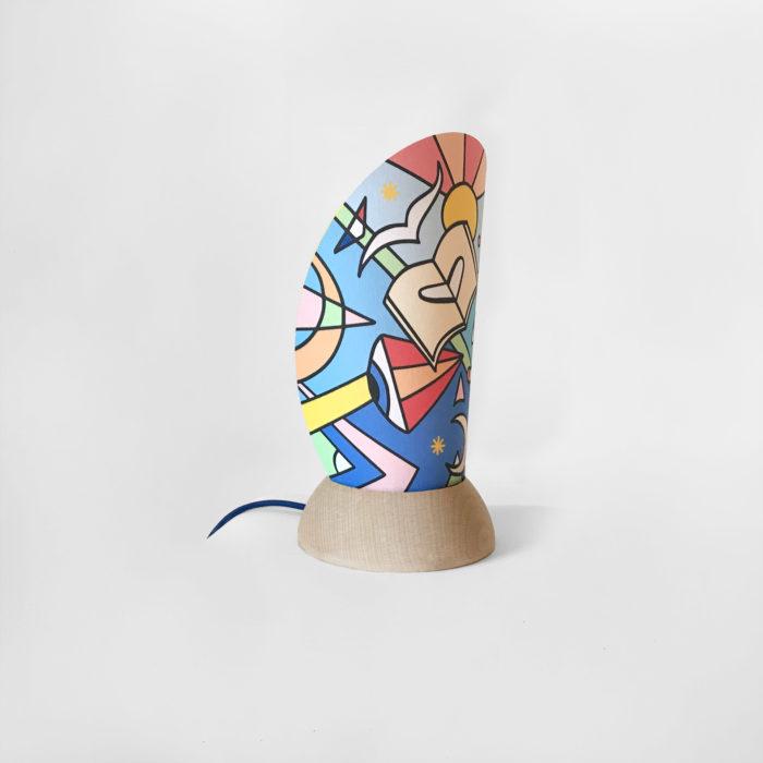 Lampe solidaire_petrolette_la cahise française_L'Inatelier_Thomas delalande_Voyage onorique_atelier_made in france_fabrication française_nantes_déco_solidarité Covid19_boutique_artisanat_artiste_profil