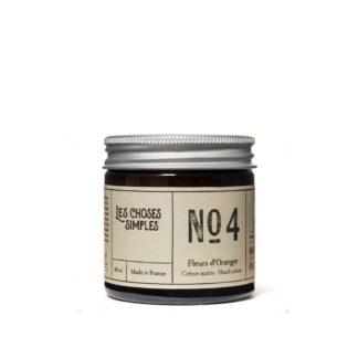 crème main naturelle_les choses simples_made in france_verre ambré_ingrédients naturels_pot crème_L'Inatelier_Nantes_beauté_cosmétique_Fleur d'oranger_1