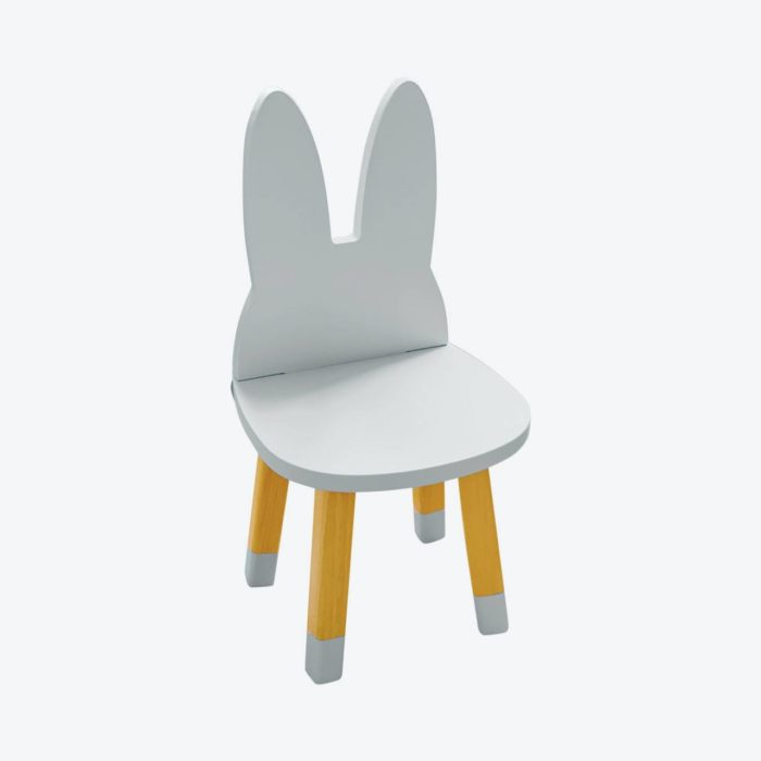 petite_chaise_enfant_lapin_bleu_boogy woody_décoration_mobilier_l'inatelier_nantes_bois_écoresponsable_vernis comestible_design_eco-friendly_made in France_fond blanc