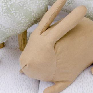 lapin - mialon mialon - jouet - enfent - linatelier - made in france - Nantes - peluche - tissus