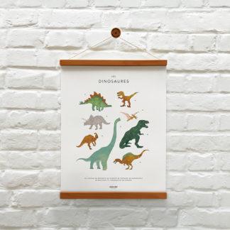 memoryAffiches_animaux-dinosaures_enfant_chambre_jeux_ludique_madeinfrance_nantes_L'Inatelier_poster_dessin_40x50cm