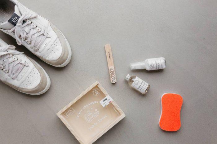 Kit nettoyage baskets et entretien sneakers_andree jardin_déco_intérieur_décoration_naturel_made-in -france_artisanat_nantes_linatelier - 1